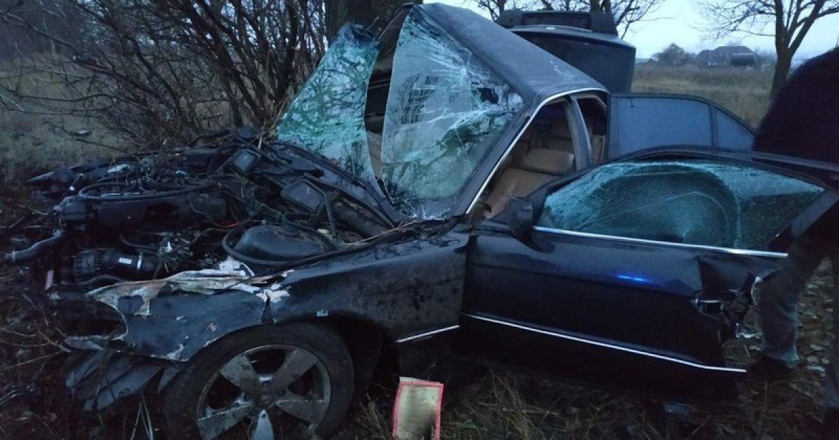 В Николаевской области в ДТП погиб патрульный: что известно (фото)