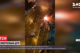 Во время масштабного ДТП в Одессе погибли два человека