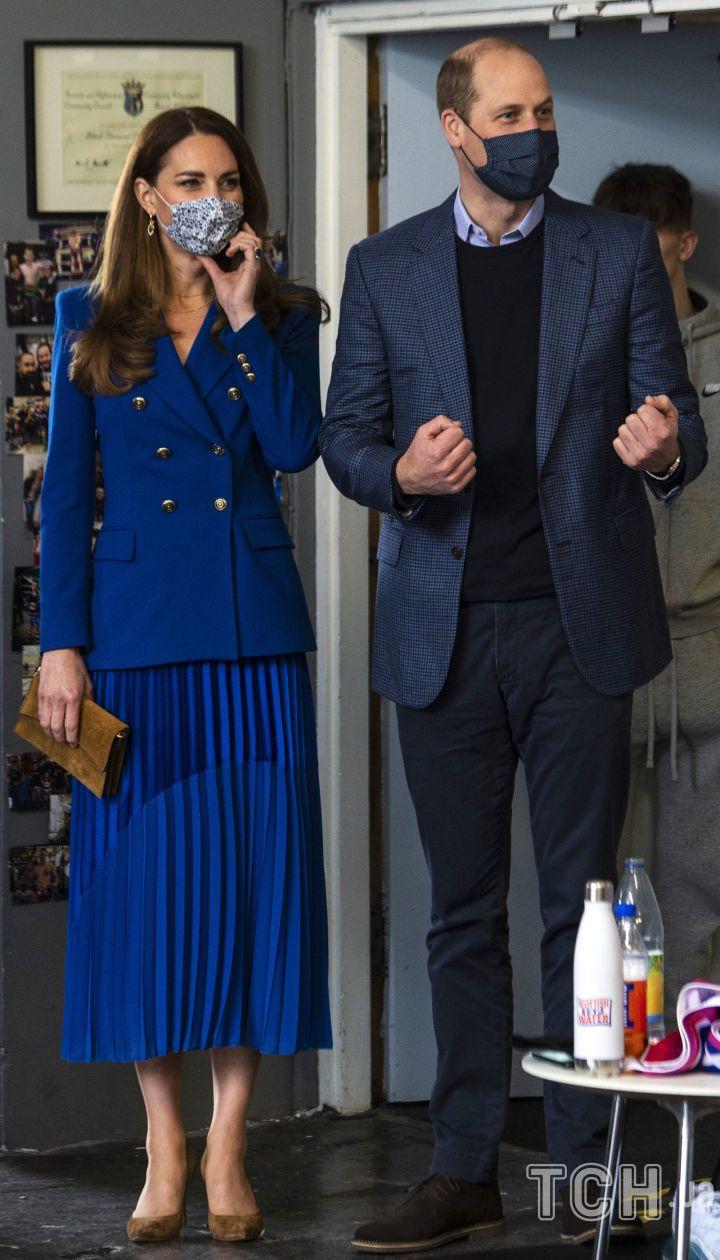 Герцогиня Кембриджська та принц Вільям / © Associated Press