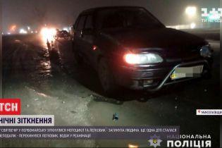 У Миколаївській області в Святвечір сталося дві аварії – загинула людина