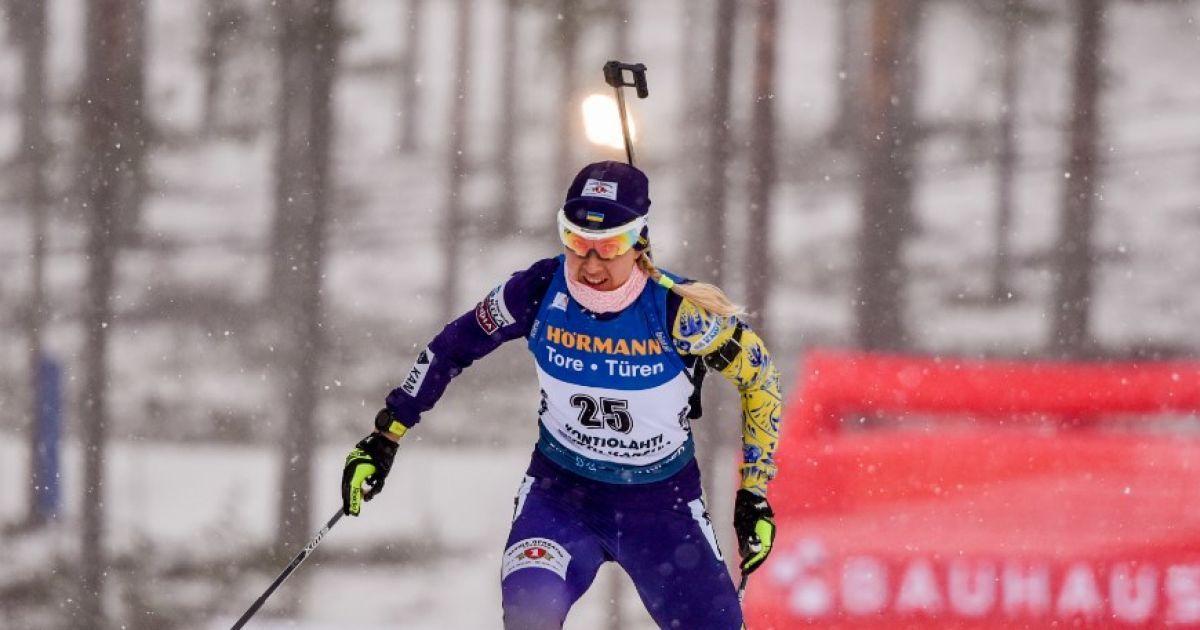 """Українка Джима виграла """"срібло"""" на Кубку світу з біатлону в Нове Место"""