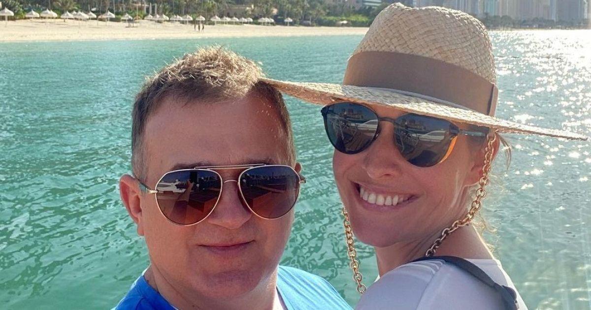 Екатерина Осадчая и Юрий Горбунов отправились в отпуск