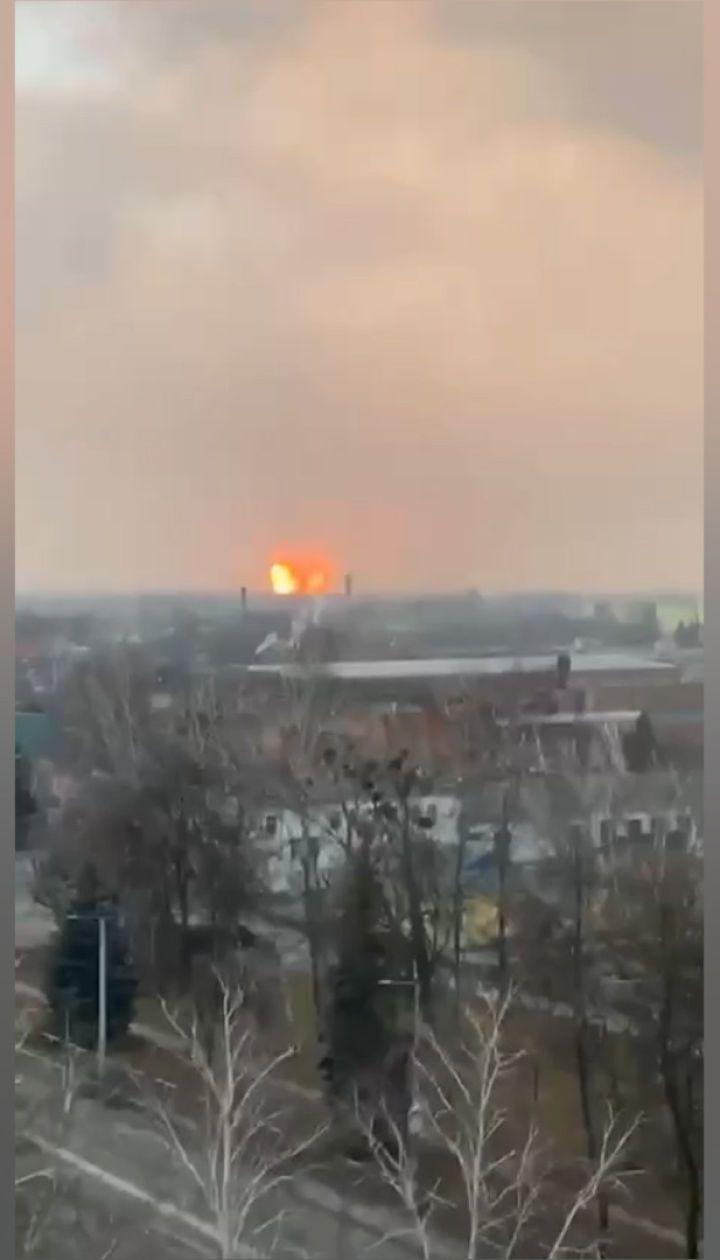 В Полтавской области прогремел мощный взрыв