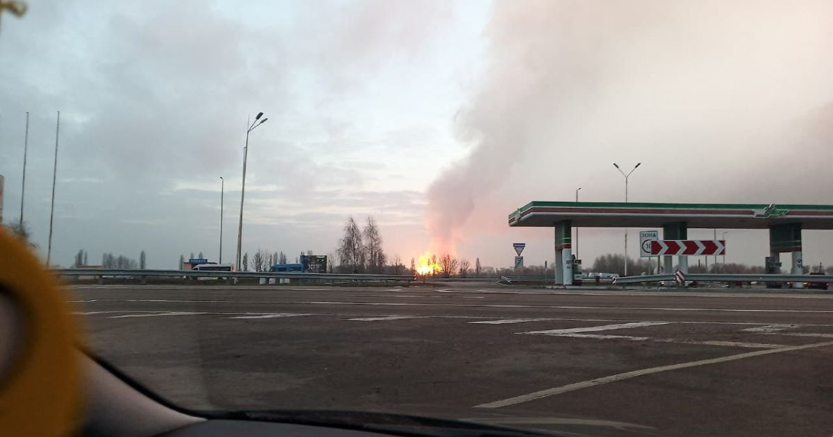 Спасатели уточнили детали взрыва на магистральном газопроводе в Полтавской области
