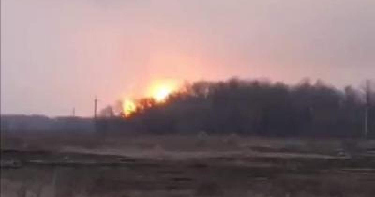 Взрыв газопровода под Лубнами: факельное горение полностью потушили