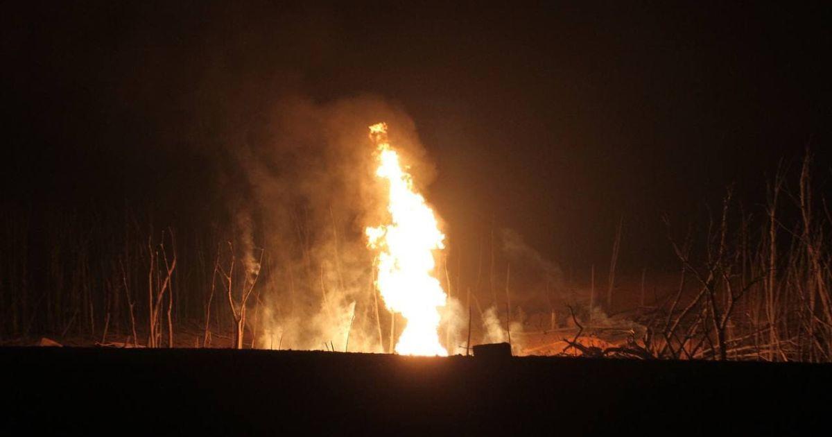 Взрыв газопровода на Полтавщине: восстановлено газоснабжение ко всем селам