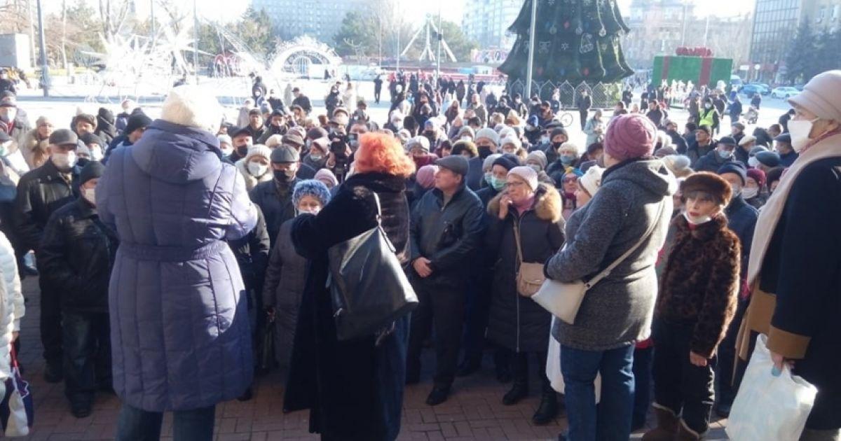 У Миколаєві протестувальники перекрили міст через підвищення тарифів на комунальні послуги: фото, відео