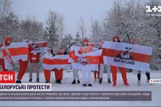 """""""Дворові"""" акції протесту в Білорусі знову завершилися арештами"""