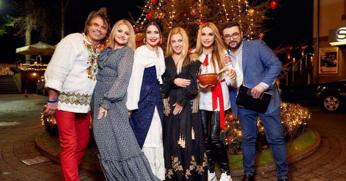 Барбир, Сеничкин, Сумская и другие звезды вместе отпраздновали Рождество в Карпатах
