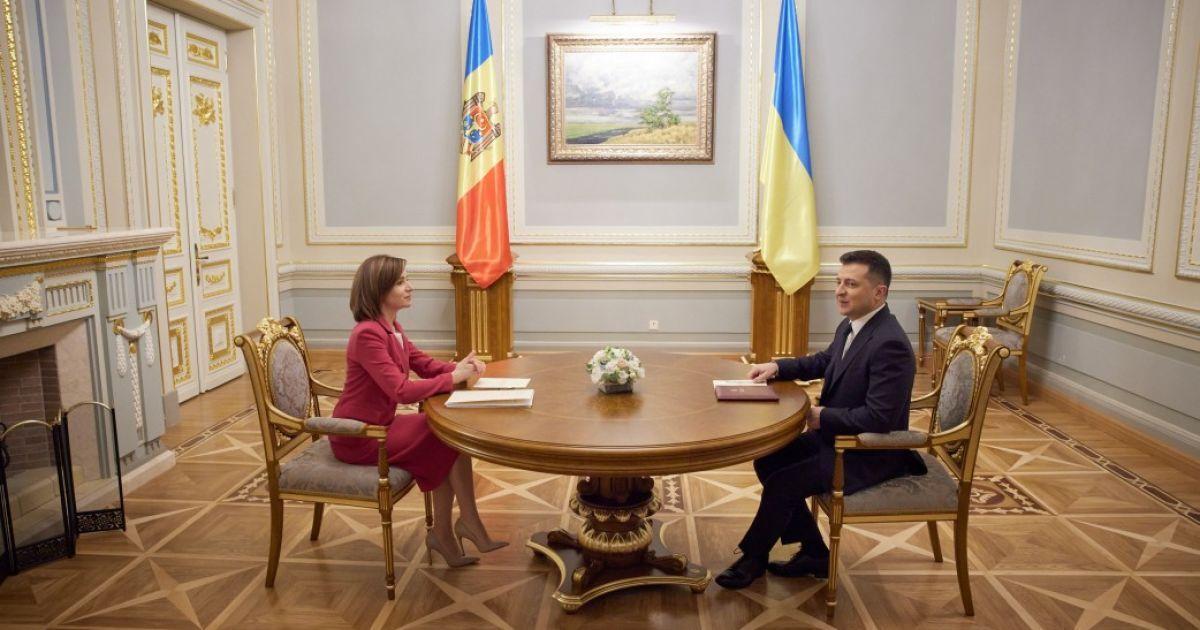 Встреча Санду и Зеленского: главы государств опубликовали совместное заявление