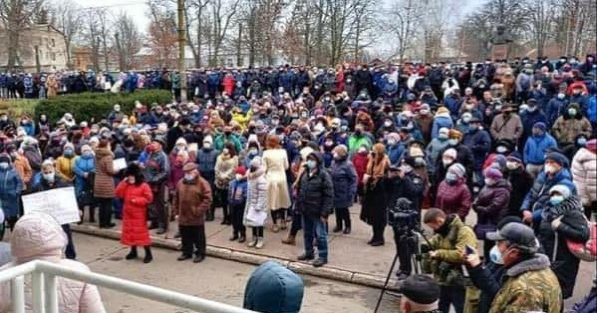Под Днепром организатора митинга против повышения цены на газ и электроэнергию оштрафовали более чем 30 000 гривен