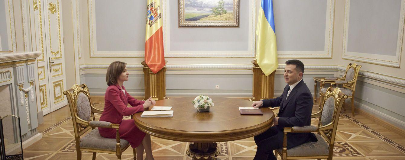Зеленский и Санду договорились создать президентскую раду