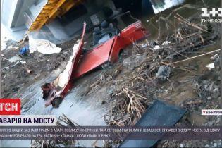 В Винницкой области легковушка врезалась в опору моста - 5 пассажиров упали в реку