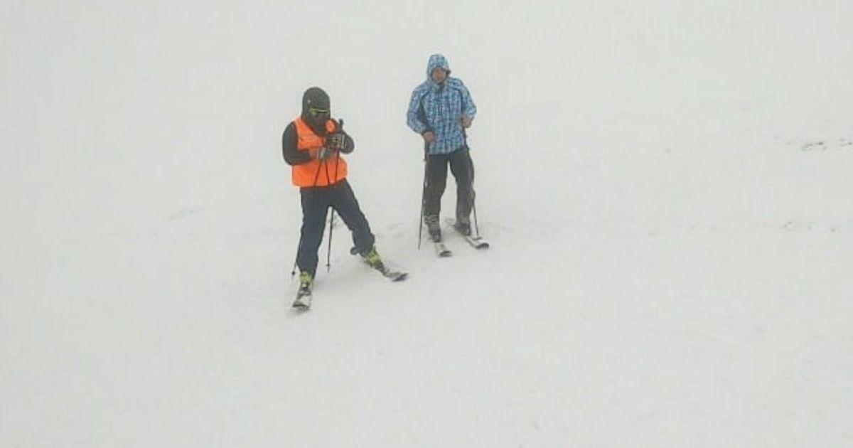 На Драгобрате нашли заблудившегося туриста-лыжника