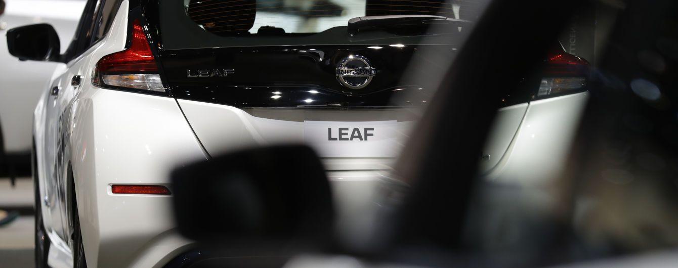 На украинский рынок официально выходит популярный электрокар Nissan Leaf