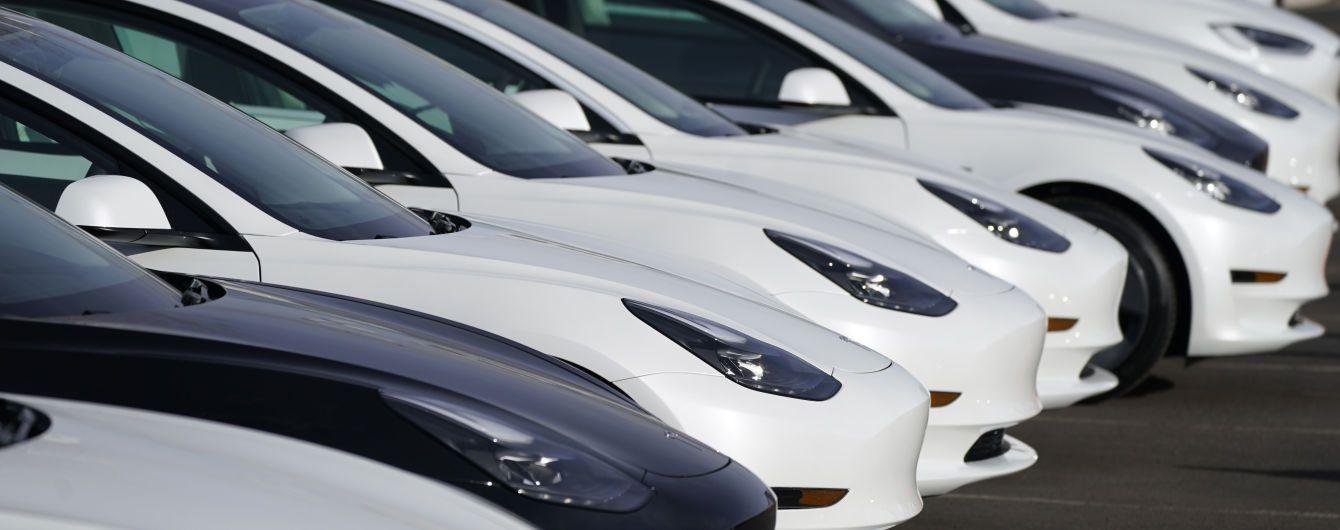 Tesla встановила рекорд із виробництва електрокарів