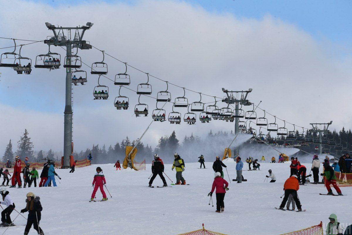 Буковель, лижі, зима в Карпатах, зимові Карпати_2