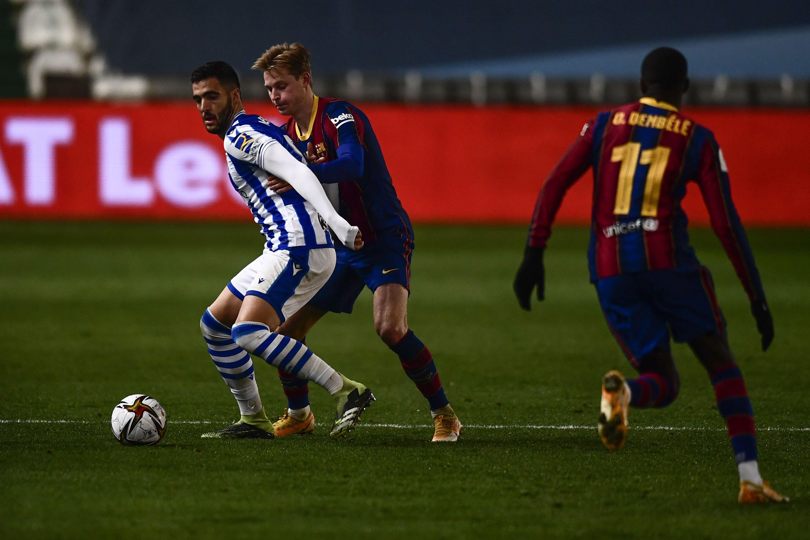 Реал Сосьєдад - Барселона