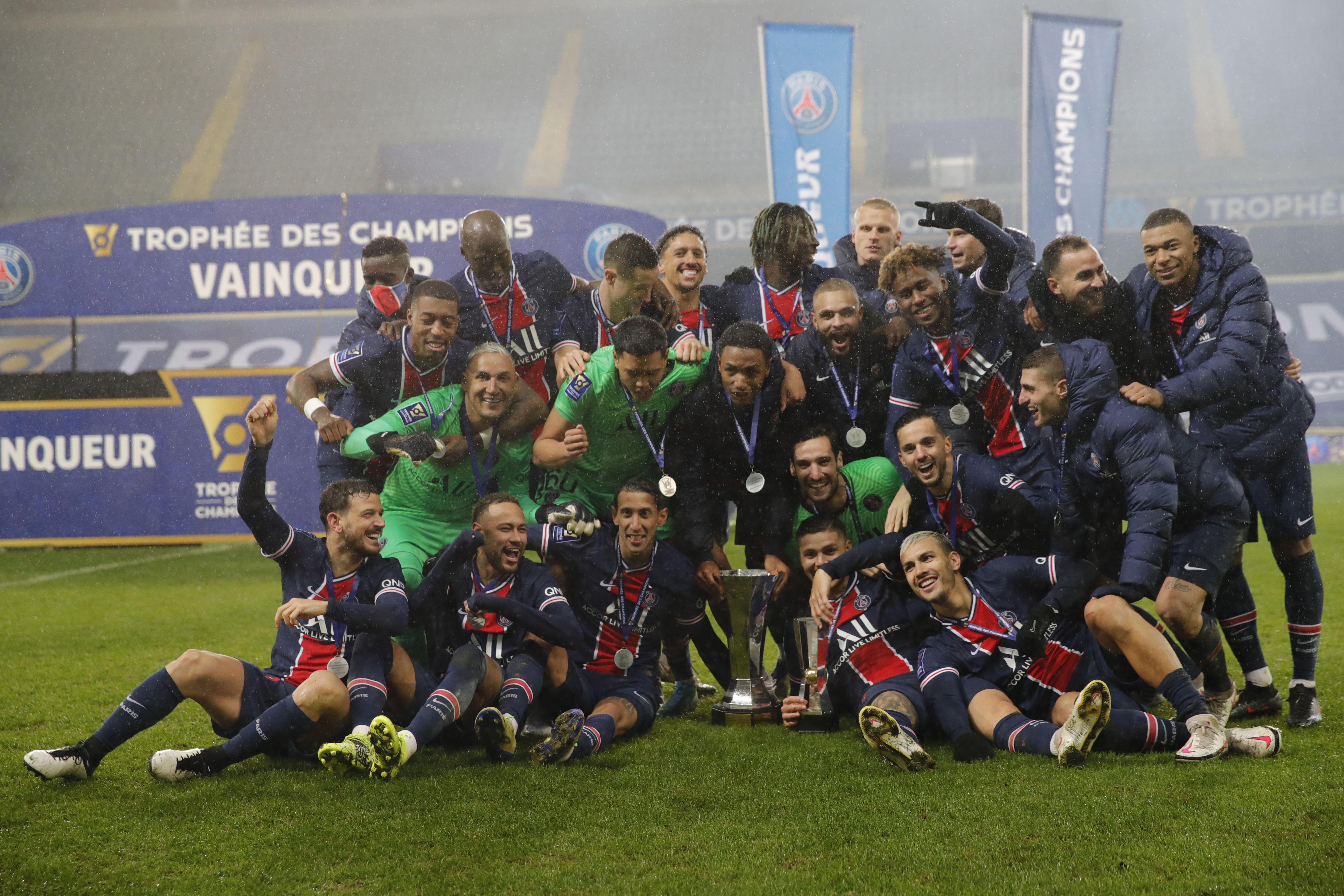 ПСЖ Суперкубок Франції