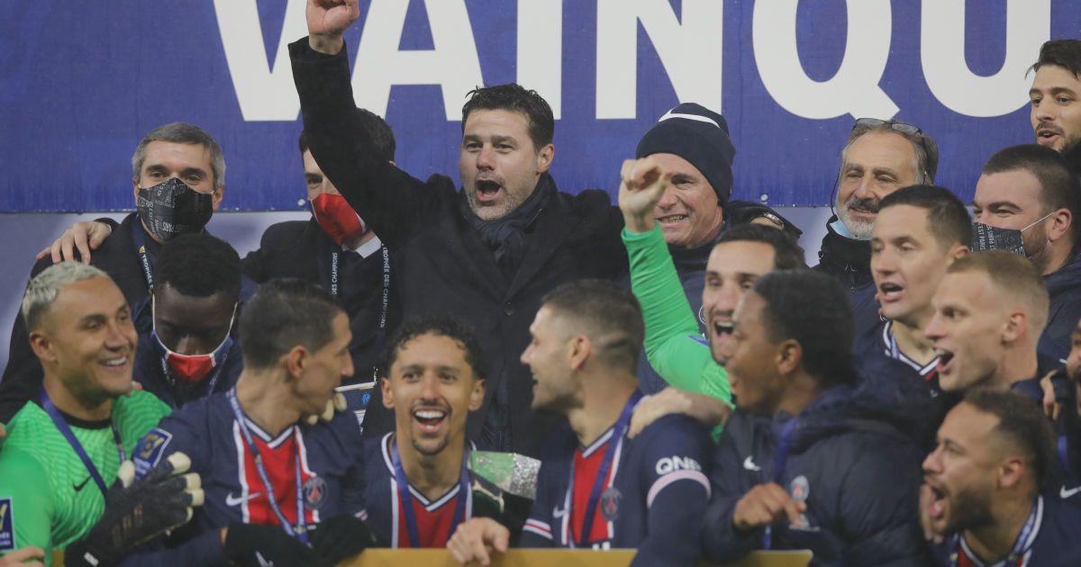 Первый трофей Почеттино: ПСЖ восьмой раз подряд завоевал Суперкубок Франции (видео)
