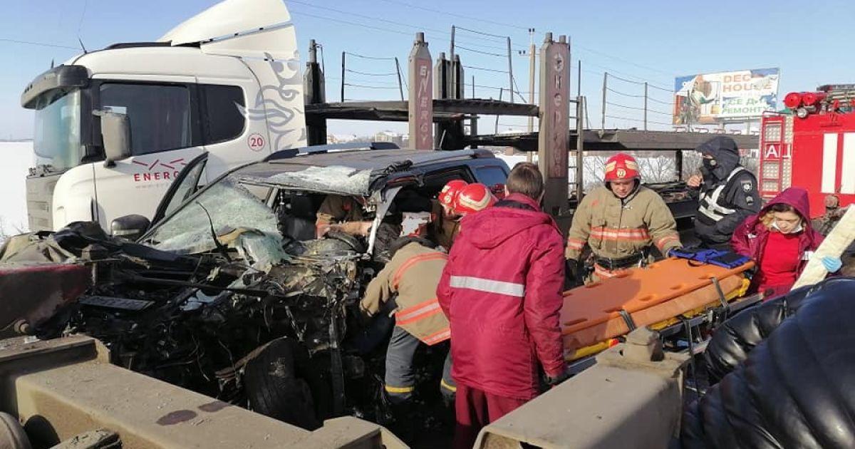 ДТП на трасі Одеса — Чорноморськ: водій загинув у лікарні (фото)