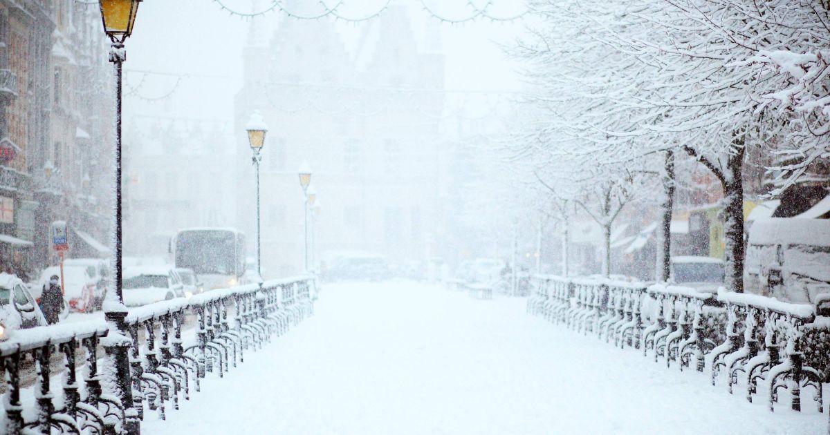 В Киеве ожидается мокрый снег и похолодание