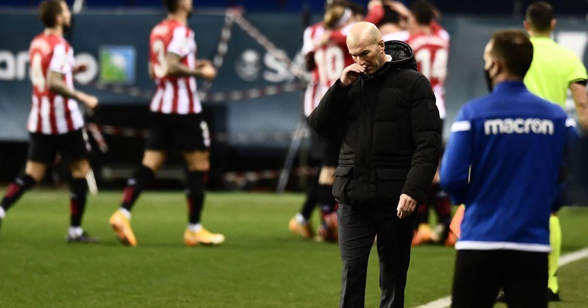 """Зідан відреагував на виліт """"Реала"""" з Суперкубка Іспанії: """"Це не провал, бо ми старалися"""""""
