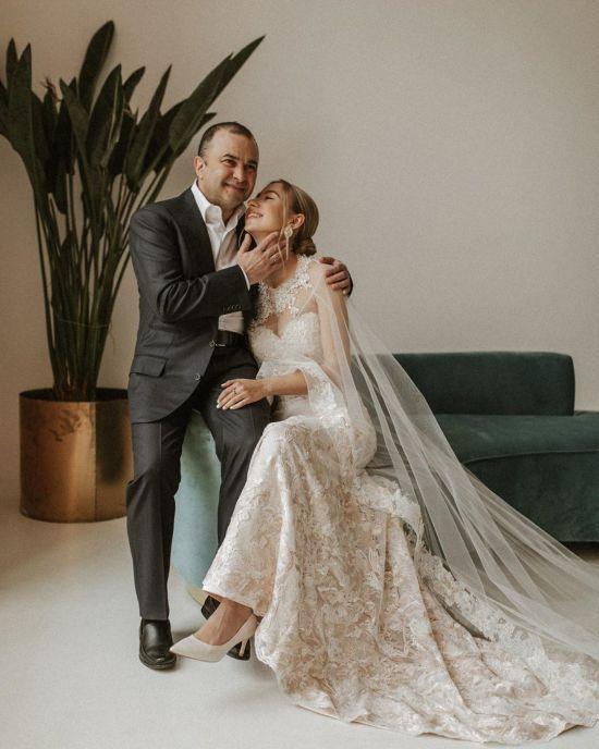 Вагітна дружина Віктора Павліка повідомила, коли пара відсвяткує весілля