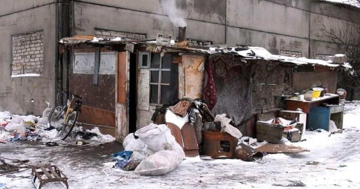 У Херсоні на звалищі виявили поселення кількох родин із дітьми