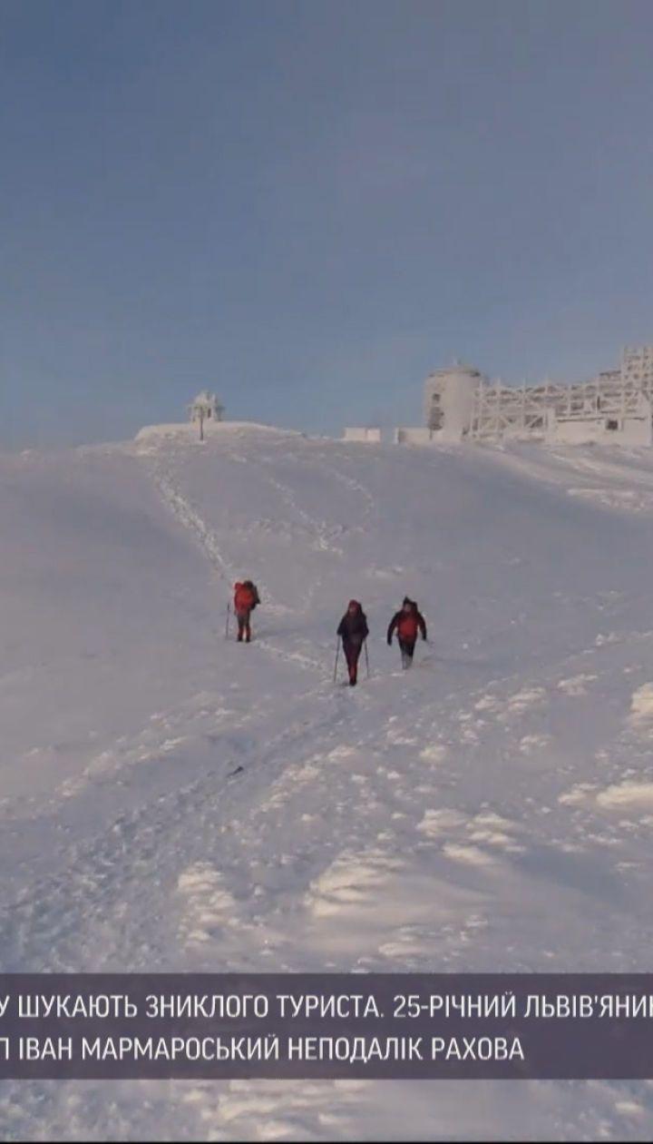 Спасатели вторые сутки ищут пропавшего в Карпатах туриста