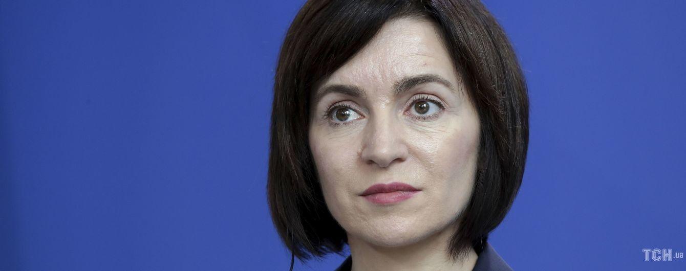 """""""Заслуговує на довіру"""": Санду оголосила кандидата на посаду прем'єр-міністра Молдови"""