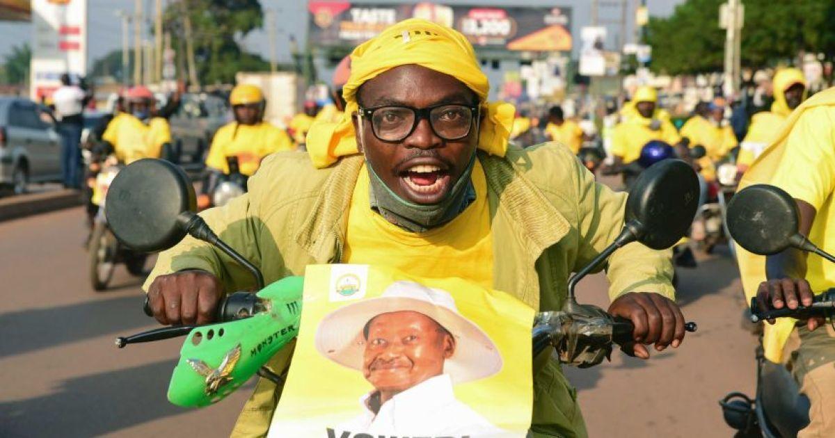 Президент Уганды Мусевени в шестой раз победил на выборах: возможна фальсификация результатов