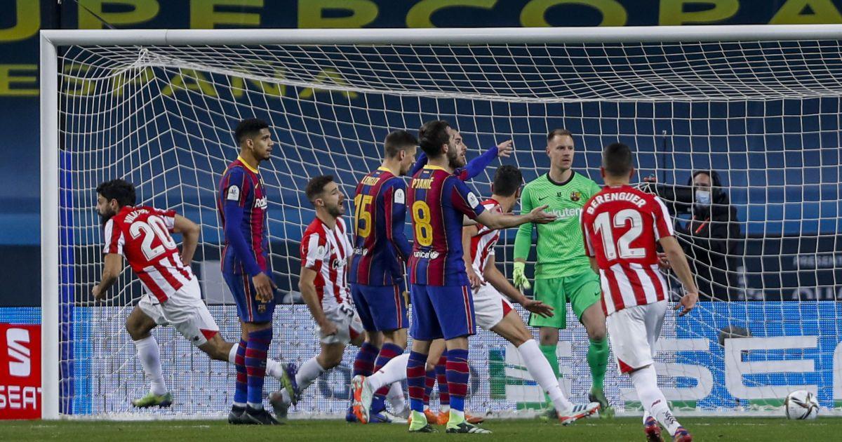 """Камбек і вилучення Мессі: """"Атлетик"""" драматично переміг """"Барселону"""" та завоював Суперкубок Іспанії"""