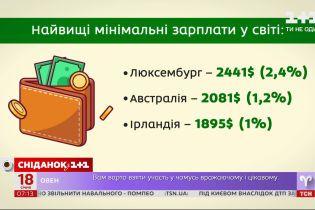 Украина возглавила мировой рейтинг роста минимальной заработной платы – экономические новости