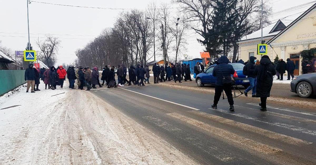 Перекрили дороги: на Буковині протестують проти підвищення цін на комунальні послуги
