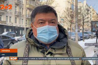 Голову Конституційного Суду України Олександра Тупицького вранці не пустили на роботу