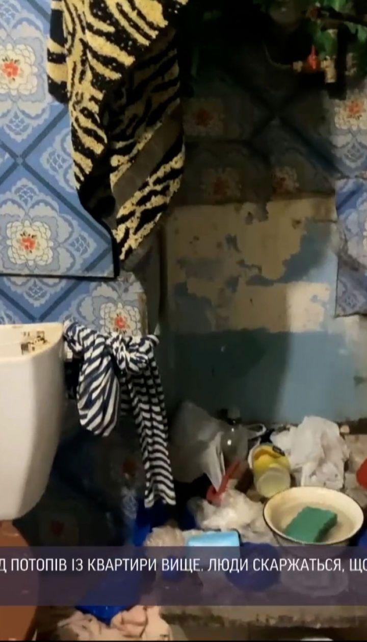 Зливає воду просто на підлогу: у Запоріжжі чоловік майже 3 тижні заливає своїх сусідів