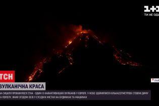 В Италии снова проснулась Этна