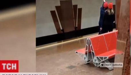 Водопад в подземке: на одной из станций метро Харькова прорвало трубу водопровода