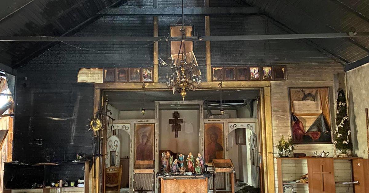 В церкві у Львівській області прогримів вибух: є постраждалий (фото, відео)