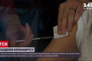Євросоюз планує експортувати надлишки вакцини від COVID-19 до бідніших країн