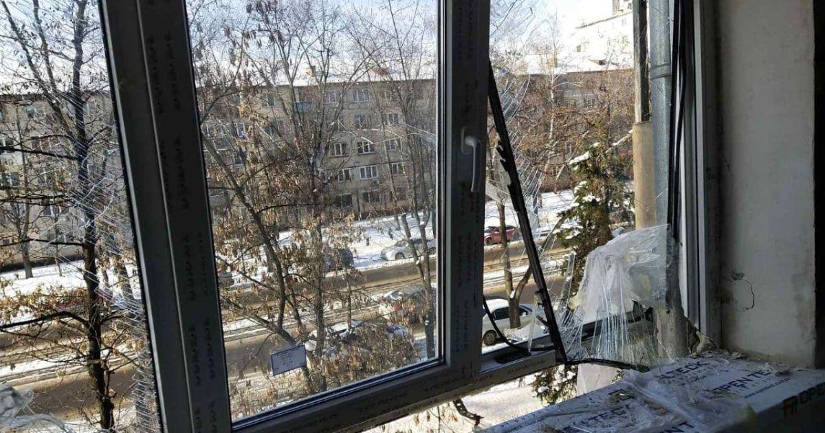 В жилом доме в Киеве произошел взрыв