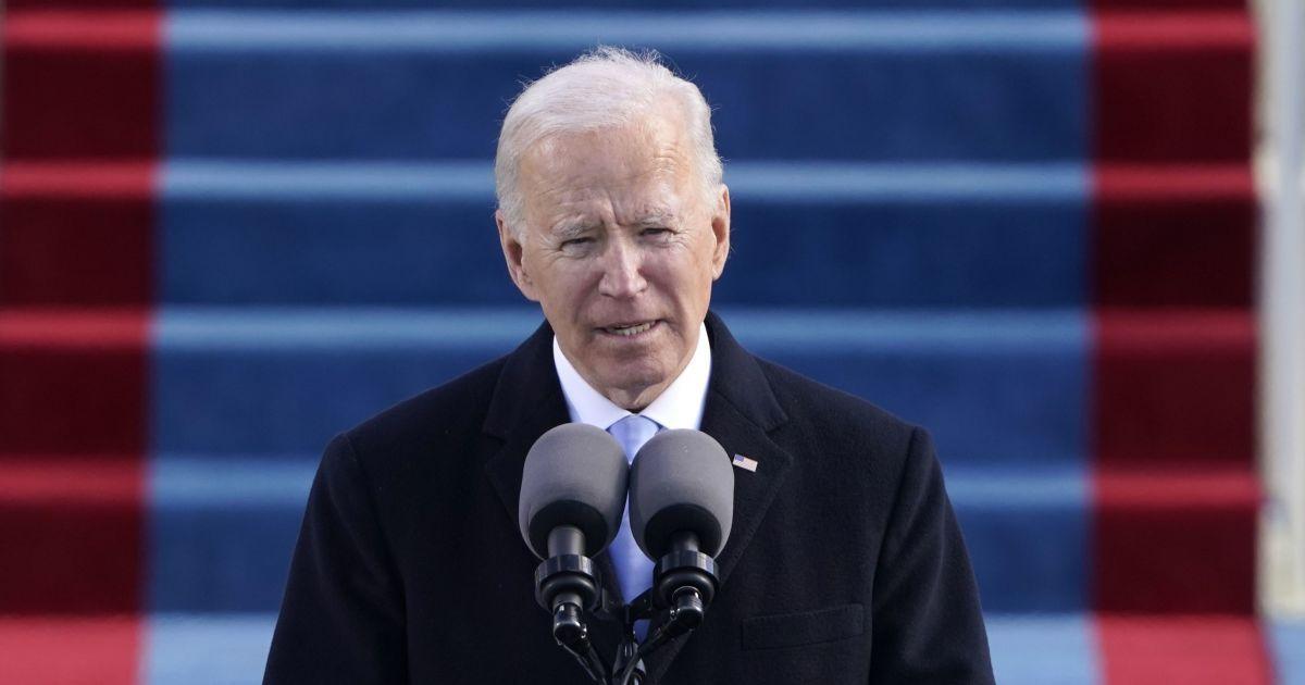 Джо Байден после инаугурации стал президентом США