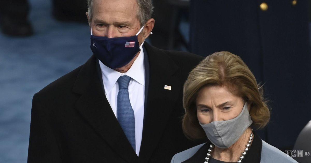 Джордж и Лора Буш