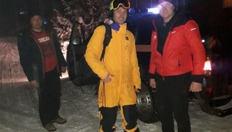 Спасатели нашли туриста, заблудившегося в Карпатах