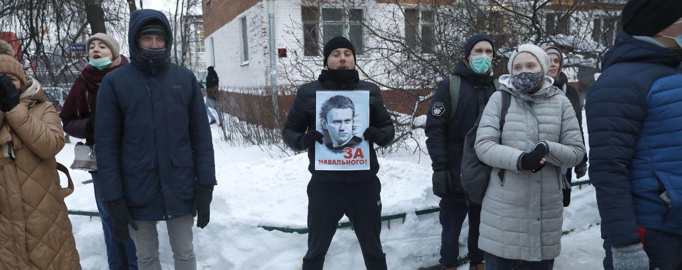 Російська прокуратура вимагає заблокувати сайти із закликами до акцій на підтримку Навального
