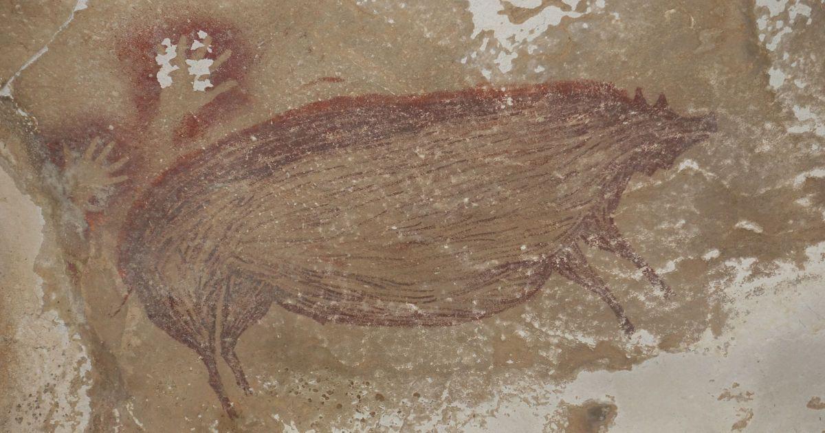 В Індонезії знайшли найдавніший наскельний малюнок тварини