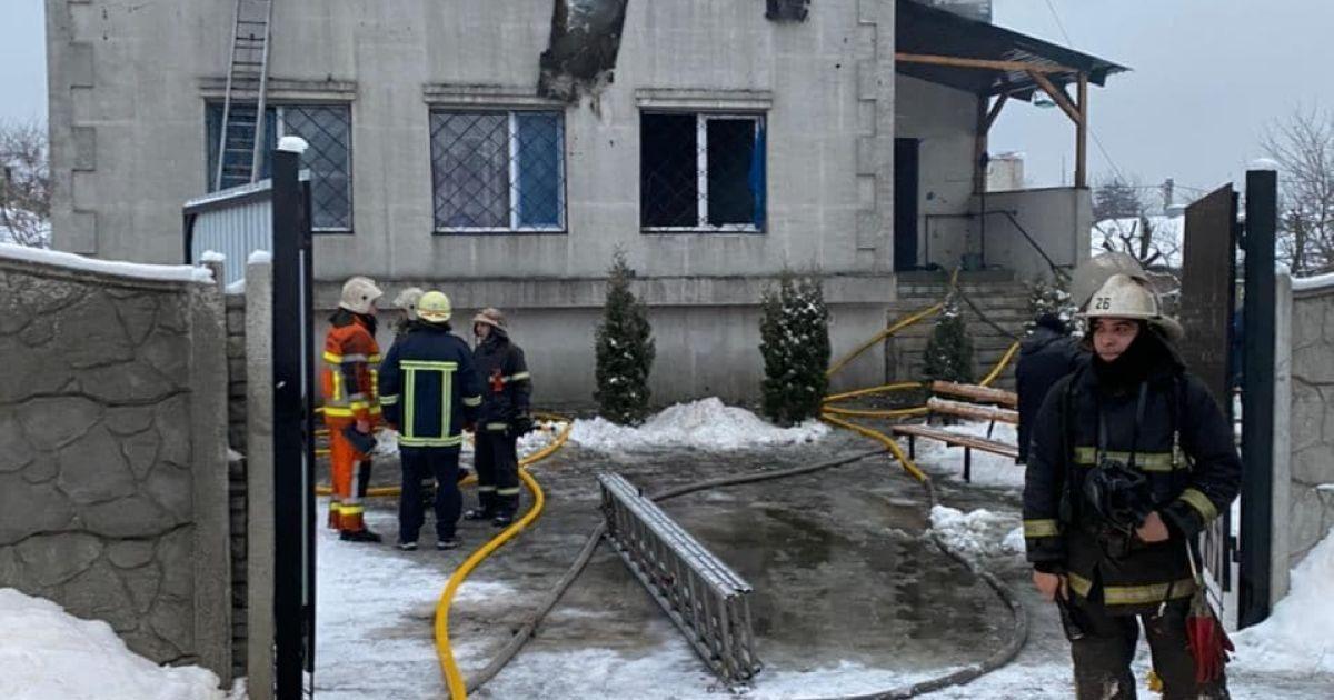 Зеленський відреагував на пожежу в будинку для літніх людей в Харкові