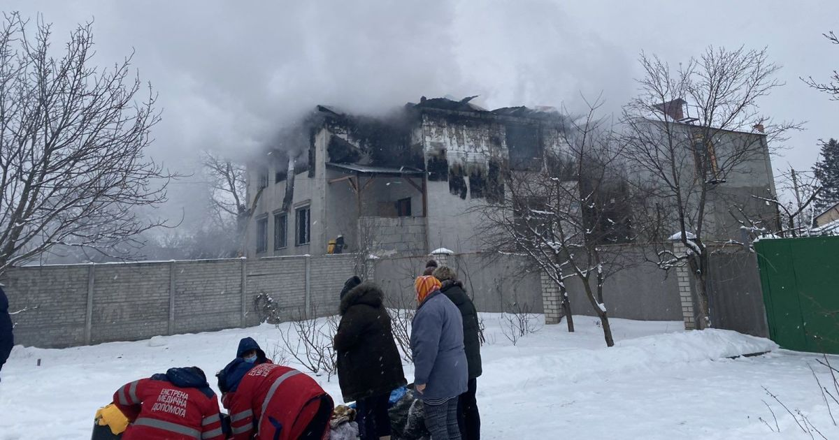 У будинку для літніх у Харкові були дерев'яні перекриття і жодних протипожежних заходів — Терехов