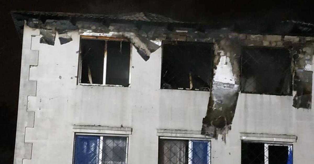 В Харькове лечение пострадавших и похороны погибших при пожаре в приюте для пожилых людей оплатит город